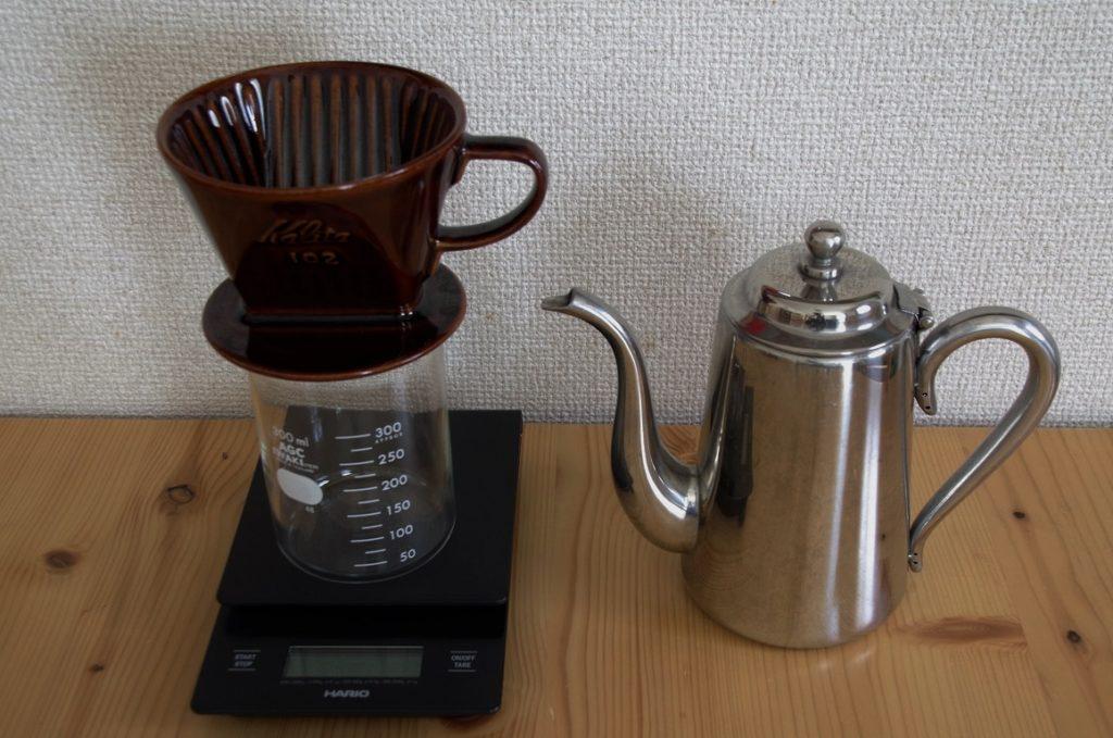 コーヒーの出器具