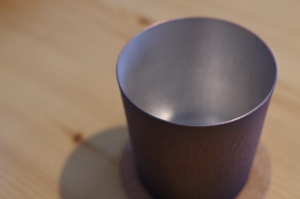 銅製タンブラー