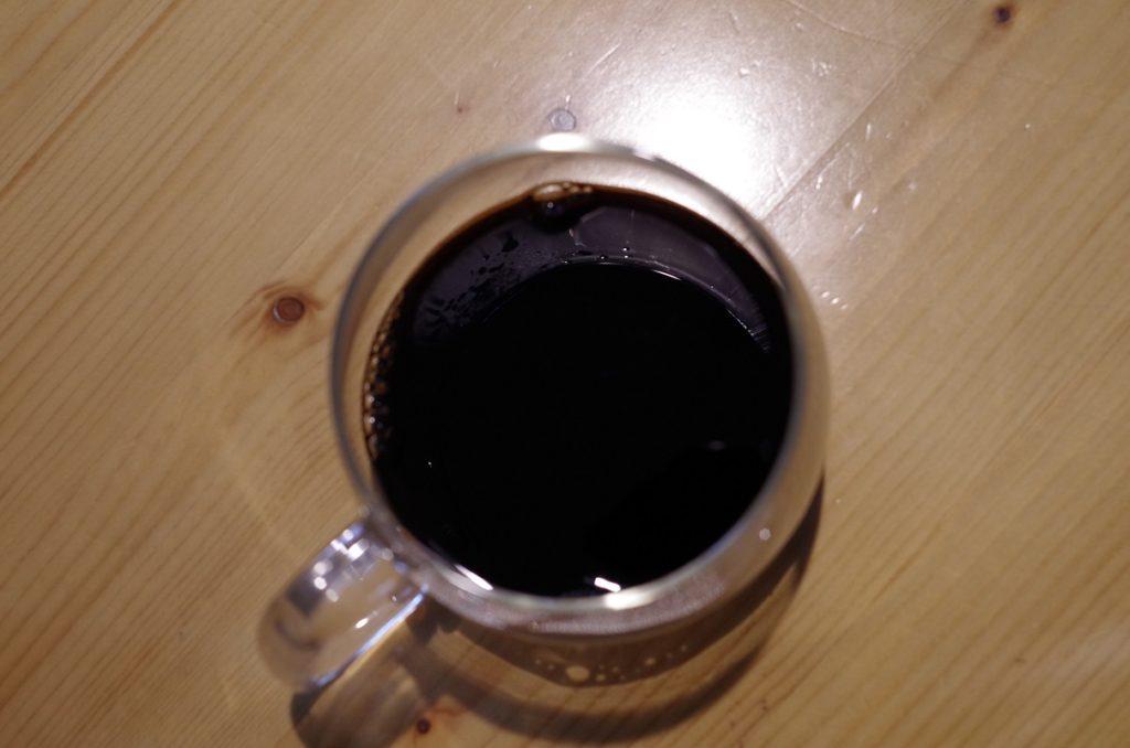 煮詰めたコーヒー