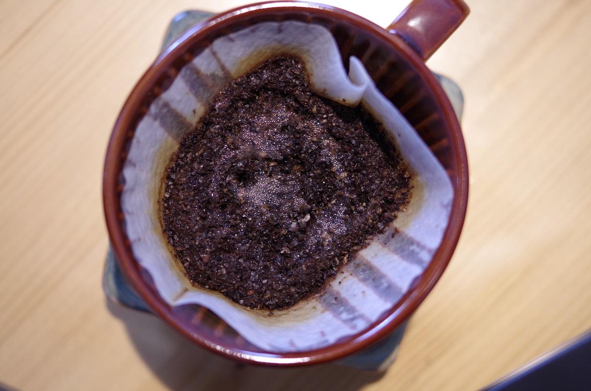 いつものコーヒー粉