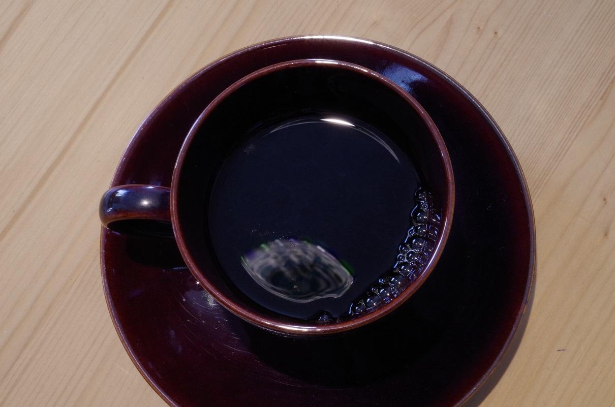 ペーパーフィルターで入れたコーヒー