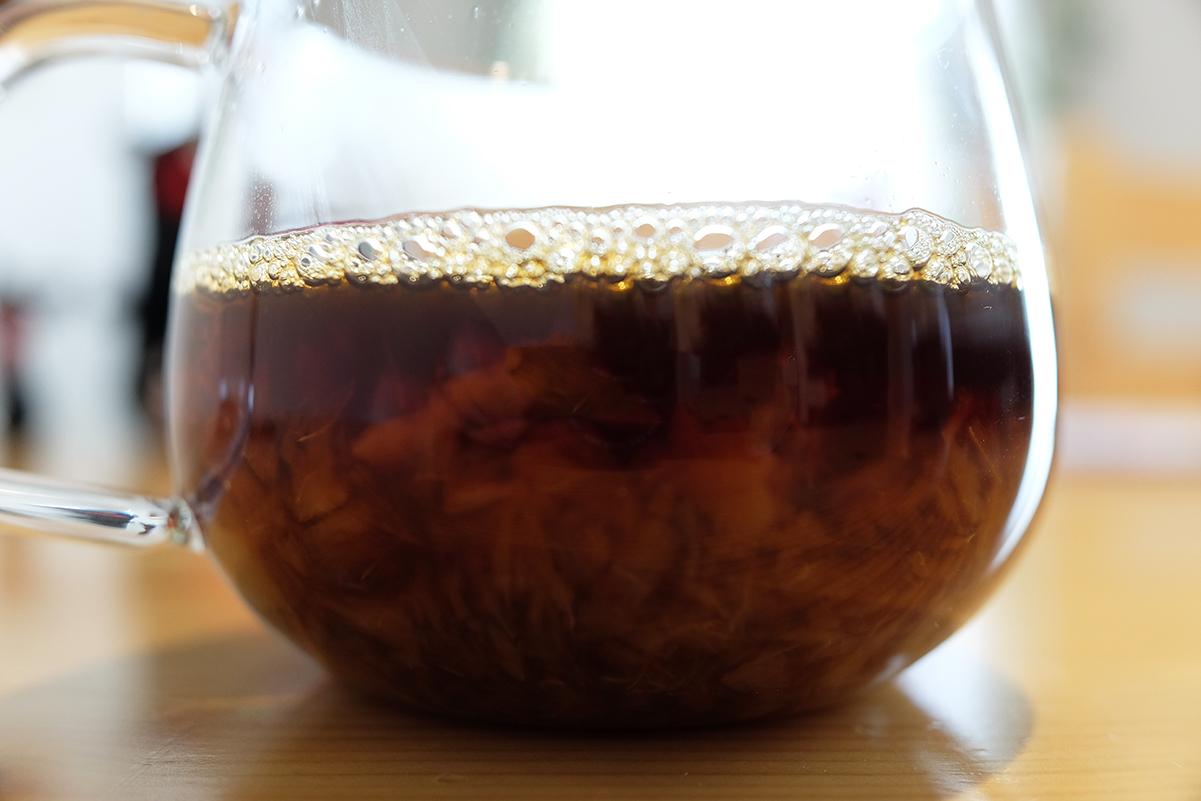 ピーチコーヒー