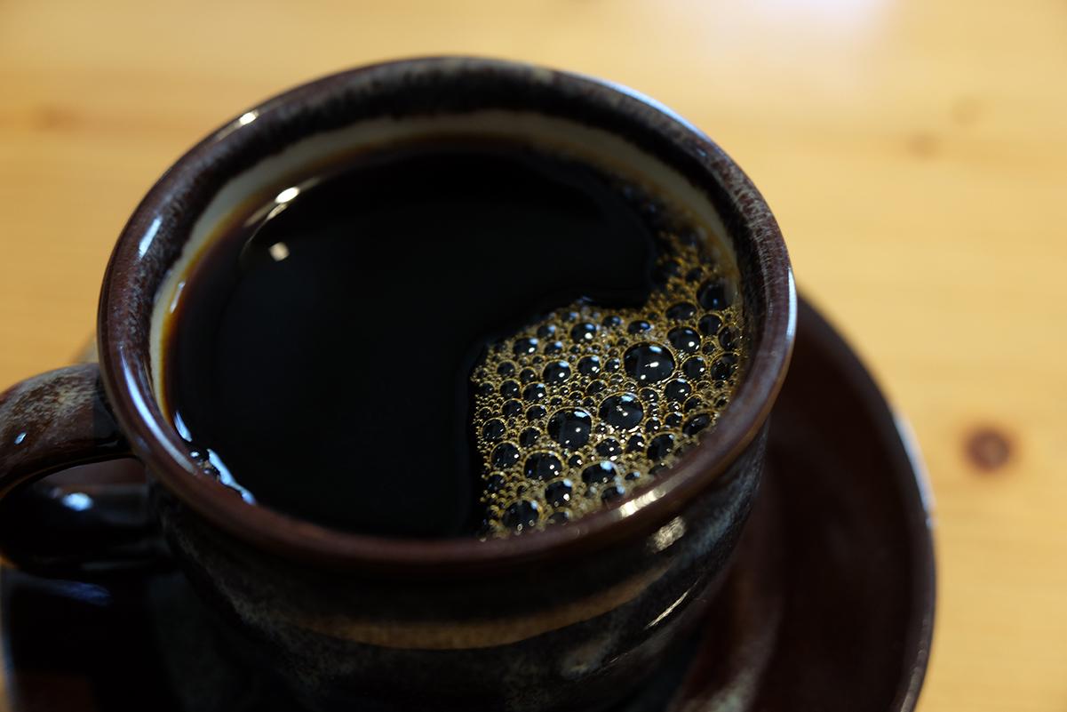 ロトドリッパーで入れたコーヒー