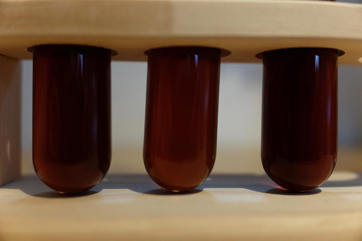 3種類のコーヒー