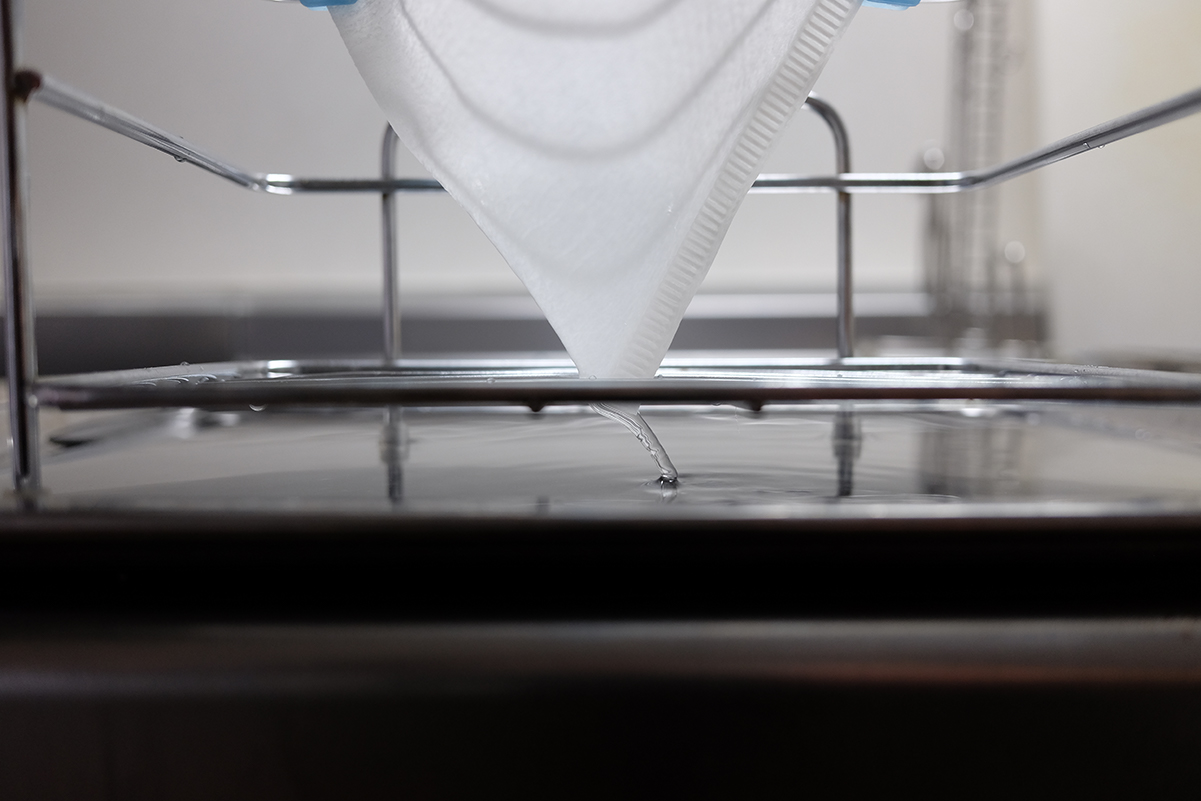 ハリオV60フィルターのお湯の落ち方その2