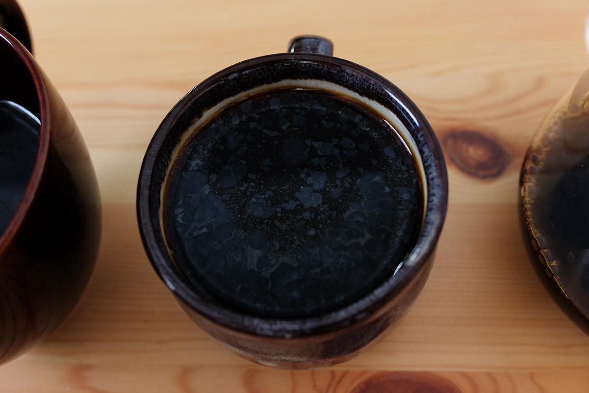 豆で冷蔵保存したコーヒー