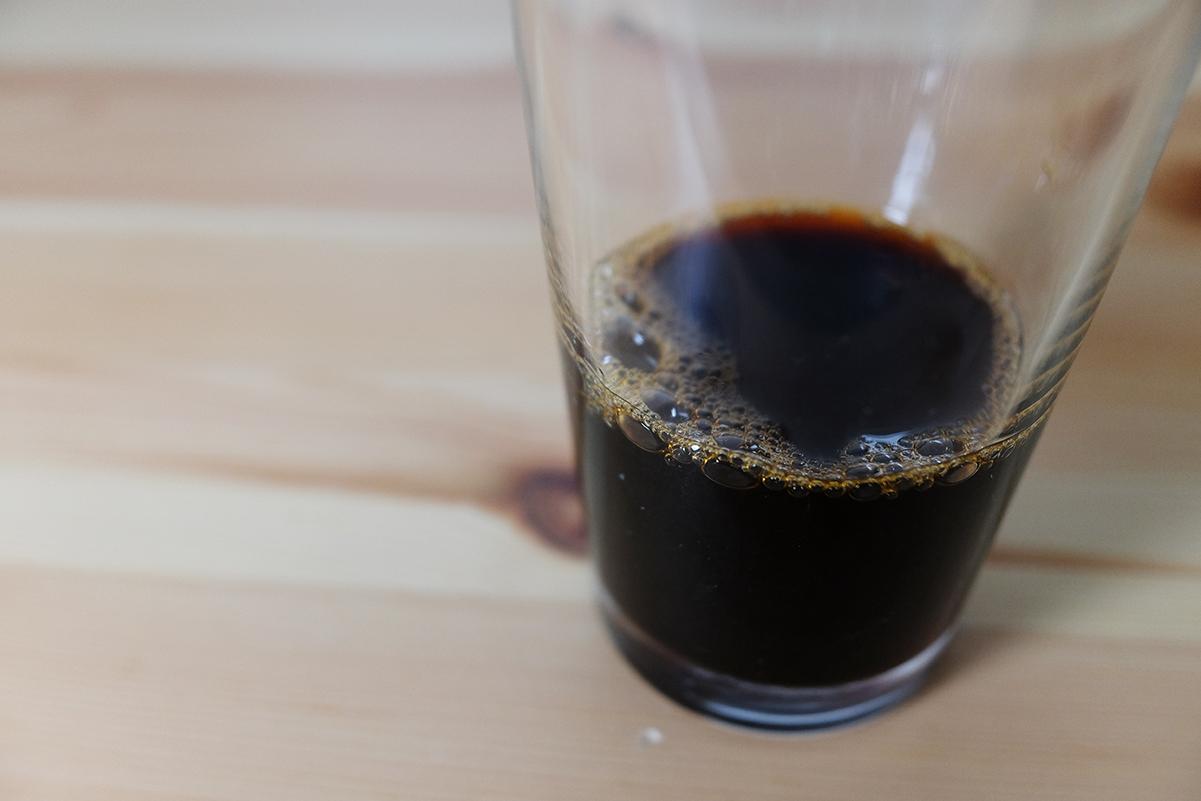 80ccのコーヒー