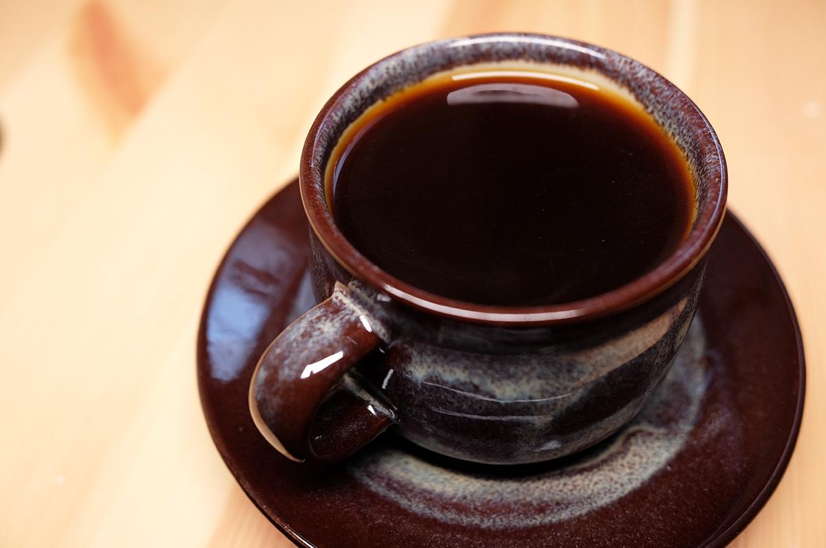 プアオーバーで入れたドリップコーヒー
