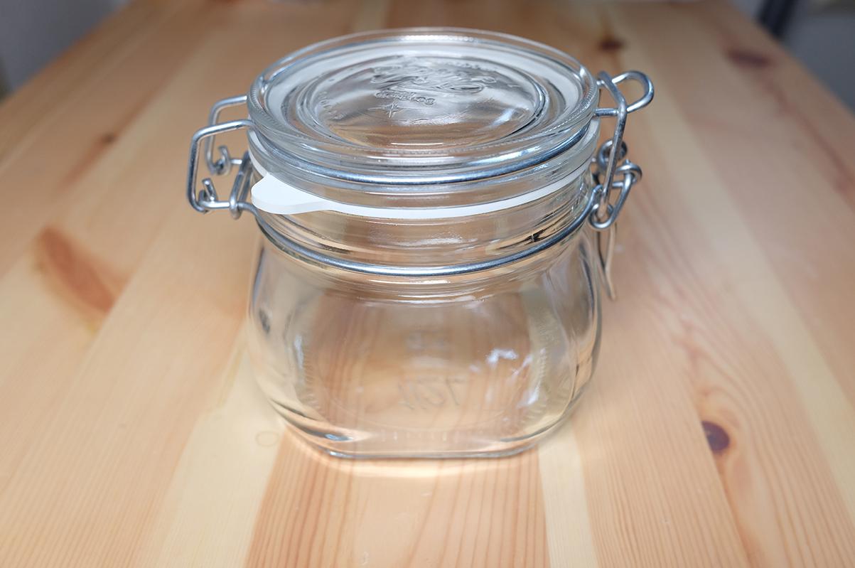 無印良品 ソーダガラス密封ビン 500ml