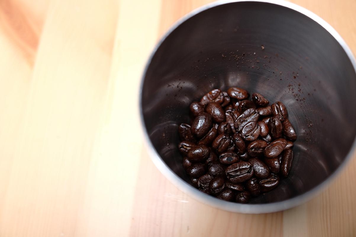 フレンチローストのコーヒー豆