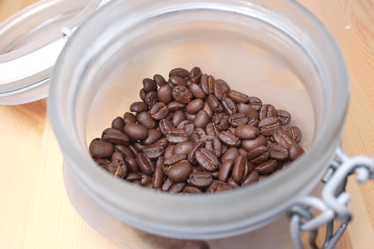 冷凍で保存したコーヒー豆