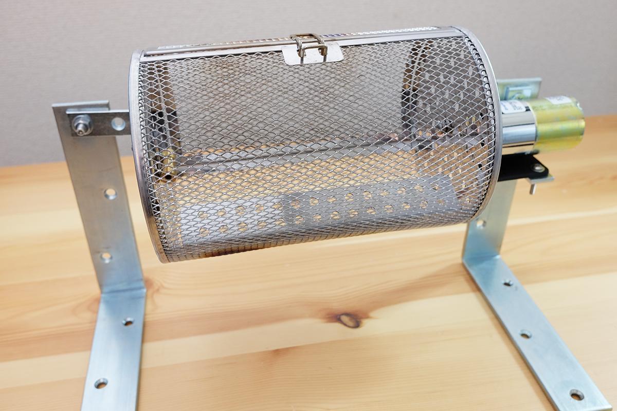 自作コーヒー豆焙煎機