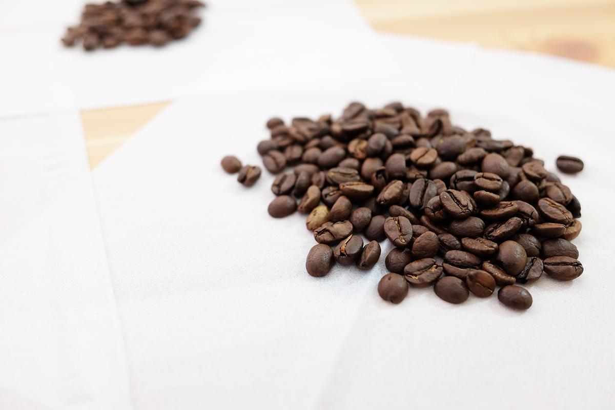 ルワンダのコーヒー豆