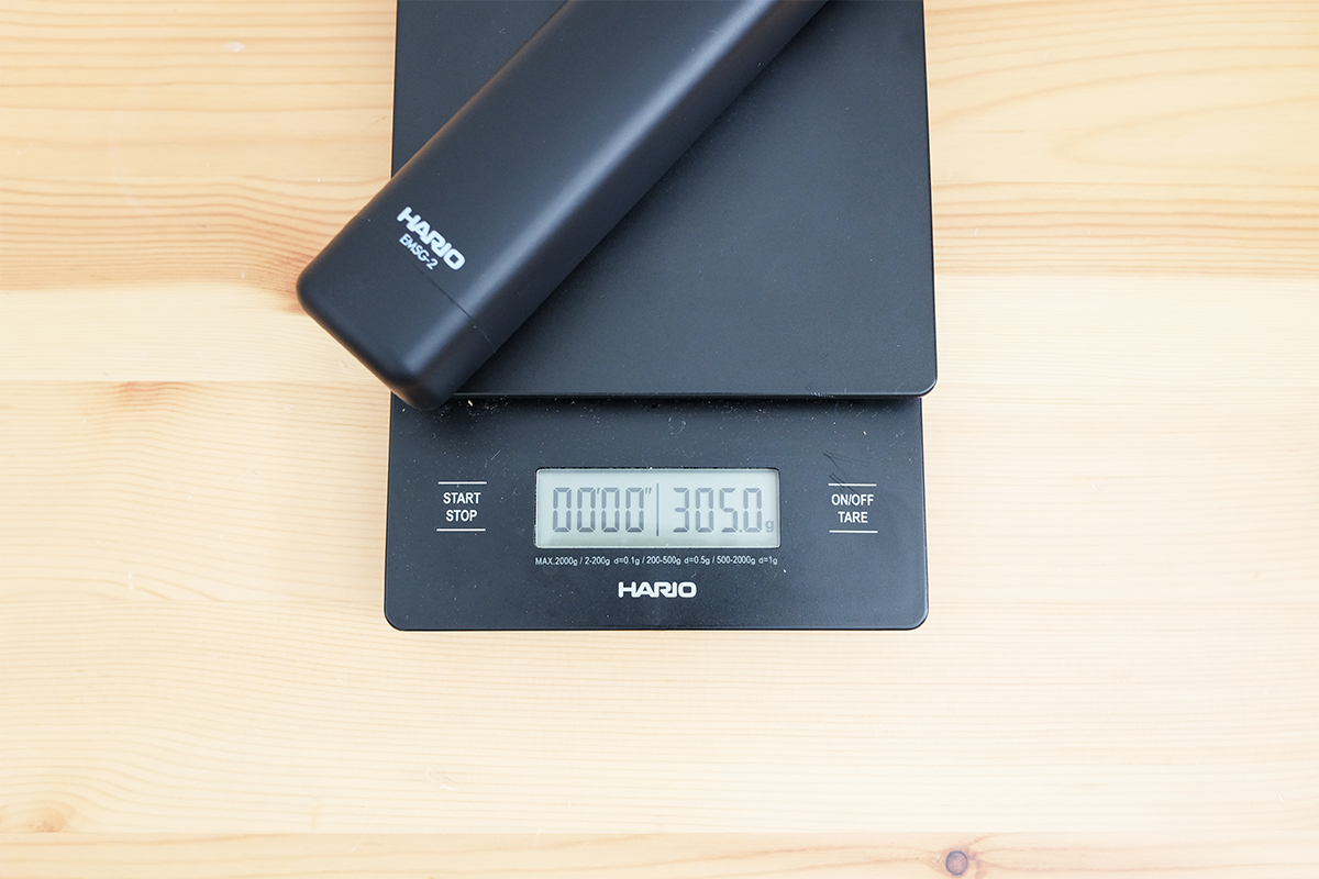 電動グラインダーの重量