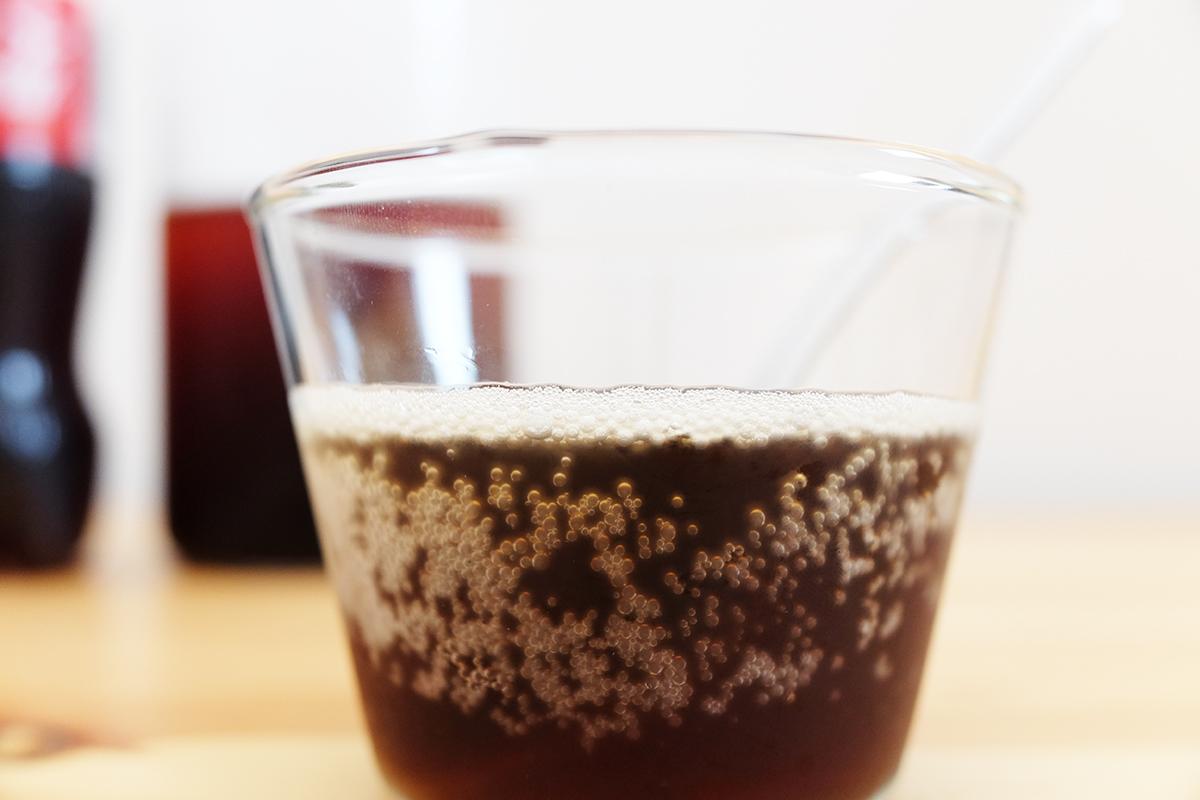 コーヒーの割合が1割のジェネリック・コカ・コーラプラスコーヒー