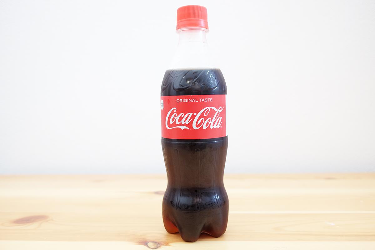500mlペットボトルのコカコーラ