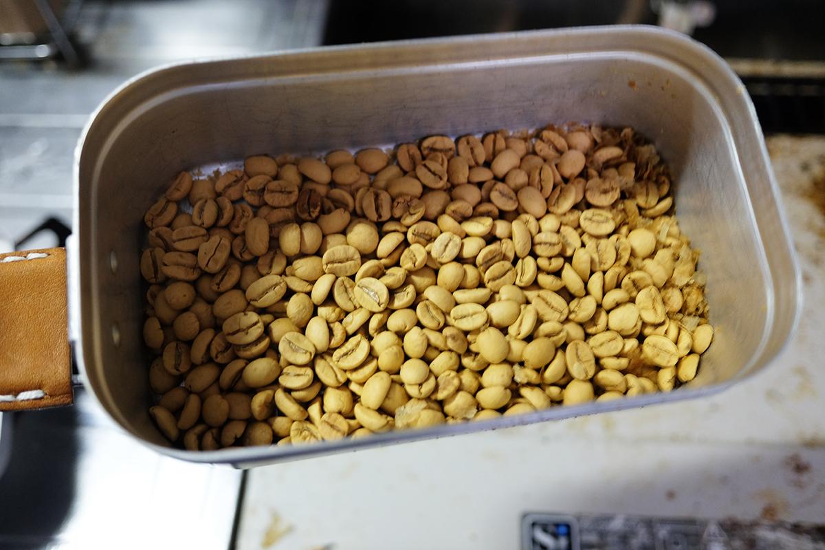 メスティンで10分焙煎したコーヒー豆