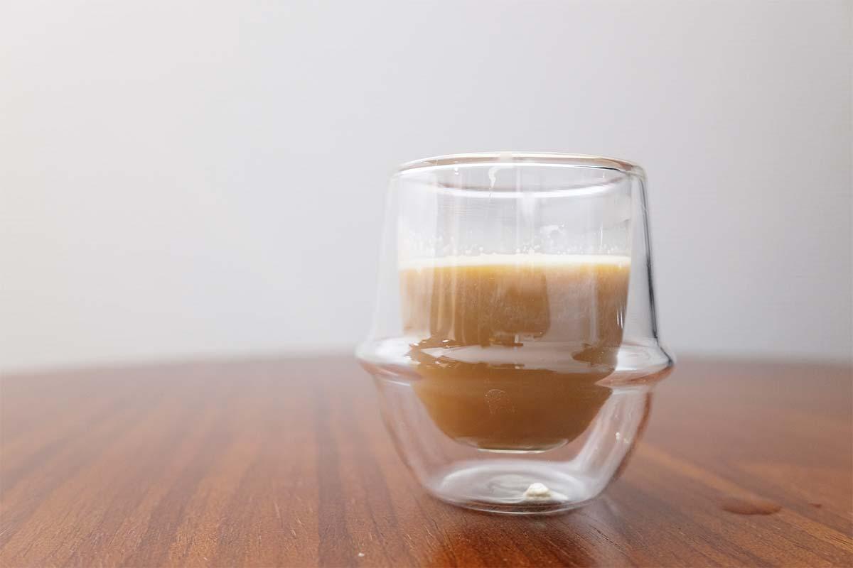 かじるバターアイスコーヒー